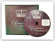 Christmas from the Book of Psalms - Audio CD Album
